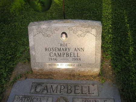 CAMPBELL, ROSEMARY - Bremer County, Iowa | ROSEMARY CAMPBELL