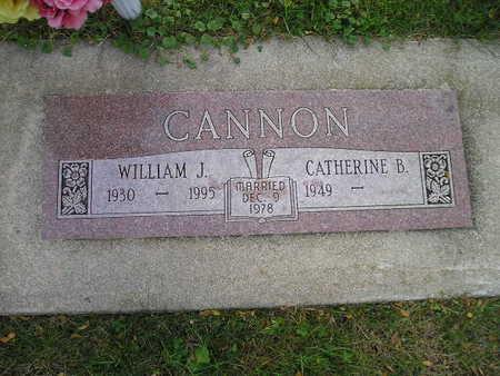 CANNON, CATHERINE B - Bremer County, Iowa   CATHERINE B CANNON