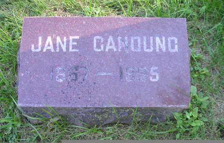 CANOUNG, JANE - Bremer County, Iowa | JANE CANOUNG