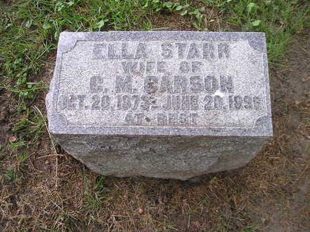 STARR CARSON, ELLA - Bremer County, Iowa | ELLA STARR CARSON