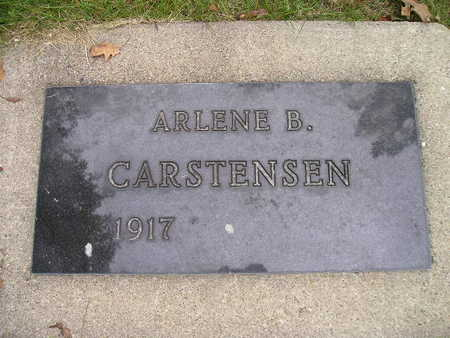 CARSTENSEN, ARLENE B - Bremer County, Iowa | ARLENE B CARSTENSEN