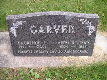 CARVER, ARIEL ROCKNE - Bremer County, Iowa | ARIEL ROCKNE CARVER