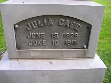 CASE, JULIA - Bremer County, Iowa   JULIA CASE