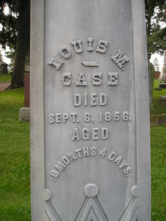 CASE, LOUIS M - Bremer County, Iowa | LOUIS M CASE