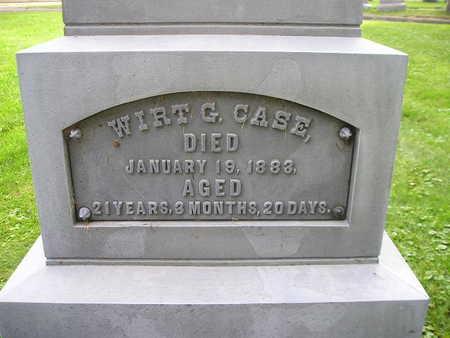 CASE, WIRT G - Bremer County, Iowa   WIRT G CASE