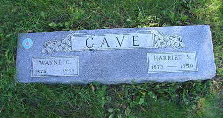 CAVE, WAYNE C - Bremer County, Iowa | WAYNE C CAVE