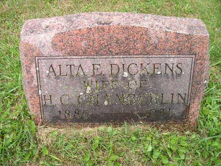 DICKENS CHAMBERLIN, ALTA E - Bremer County, Iowa | ALTA E DICKENS CHAMBERLIN