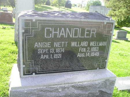 CHANDLER, ANGIE NETT - Bremer County, Iowa   ANGIE NETT CHANDLER