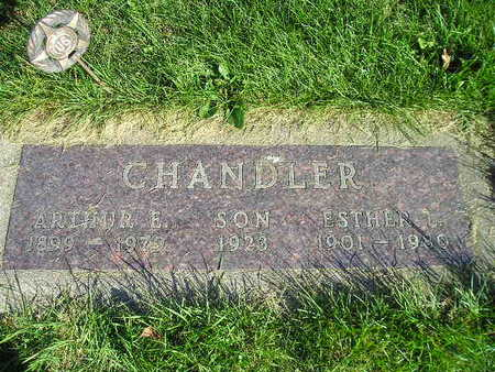 CHANDLER, ESTHER L - Bremer County, Iowa | ESTHER L CHANDLER