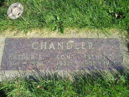 CHANDLER, ARTHGUR E - Bremer County, Iowa | ARTHGUR E CHANDLER