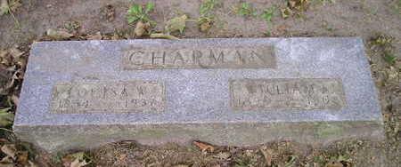 CHAPMAN, LOUISA W - Bremer County, Iowa | LOUISA W CHAPMAN