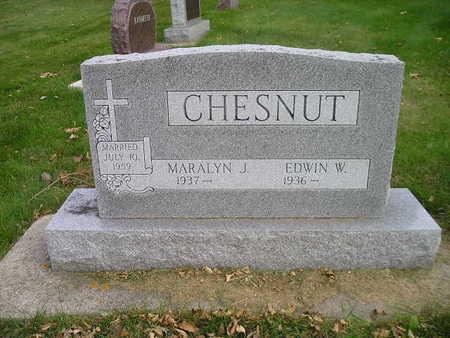 CHESTNUT, EDWIN W - Bremer County, Iowa | EDWIN W CHESTNUT