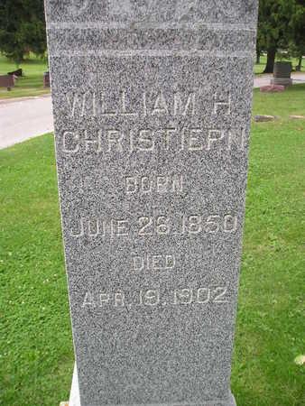 CHRISTIAN, WILLIAM H. - Bremer County, Iowa | WILLIAM H. CHRISTIAN