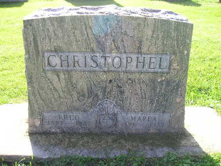 CHRISTOPHEL, FRED - Bremer County, Iowa | FRED CHRISTOPHEL