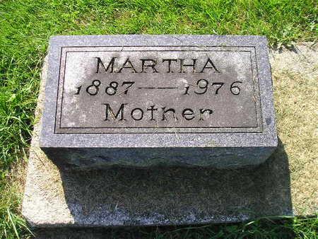 CHRISTOPHEL, MARTHA - Bremer County, Iowa   MARTHA CHRISTOPHEL