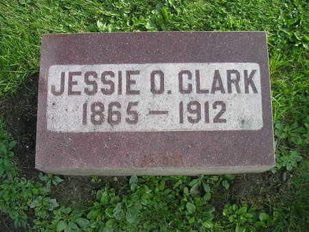 CLARK, JESSIE O - Bremer County, Iowa   JESSIE O CLARK
