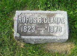 CLARKE, RUFUS - Bremer County, Iowa | RUFUS CLARKE