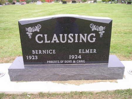 CLAUSING, ELMER - Bremer County, Iowa | ELMER CLAUSING