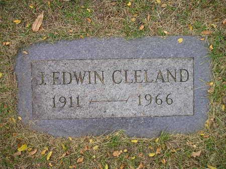 CLELAND, J EDWIN - Bremer County, Iowa   J EDWIN CLELAND