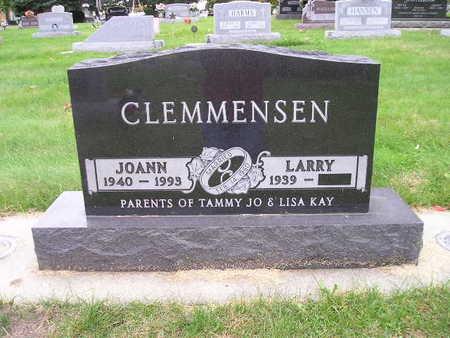 CLEMMENSEN, LARRY - Bremer County, Iowa   LARRY CLEMMENSEN