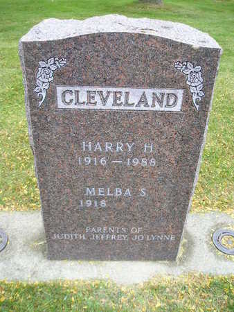 CLEVELAND, HARRY H - Bremer County, Iowa | HARRY H CLEVELAND
