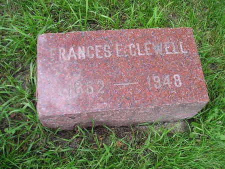 CLEWELL, FRANCES E - Bremer County, Iowa | FRANCES E CLEWELL