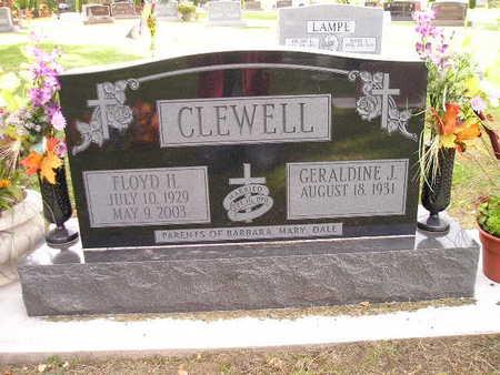 CLEWELL, GERALDINE J - Bremer County, Iowa | GERALDINE J CLEWELL