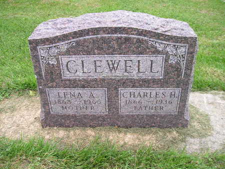 CLEWELL, LENA A - Bremer County, Iowa | LENA A CLEWELL