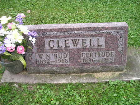 CLEWELL, GERTRUDE - Bremer County, Iowa | GERTRUDE CLEWELL