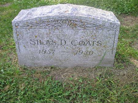 COATS, SILAS D - Bremer County, Iowa | SILAS D COATS