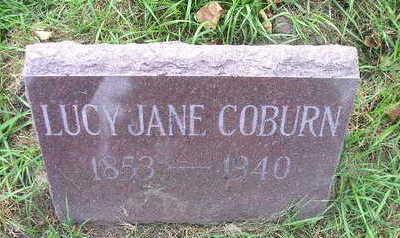 COBURN, LUCY JANE - Bremer County, Iowa | LUCY JANE COBURN