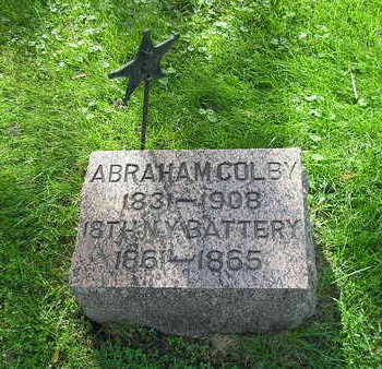 COLBY, ABRAHAM - Bremer County, Iowa   ABRAHAM COLBY