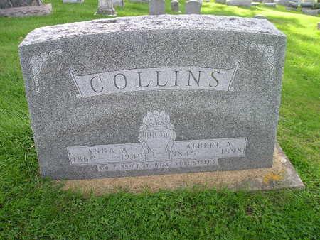 COLLINS, ANNA A - Bremer County, Iowa | ANNA A COLLINS