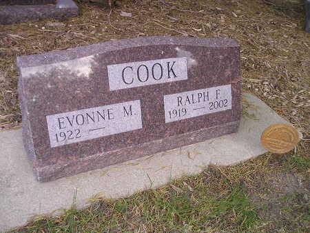 COOK, EVONNE M - Bremer County, Iowa | EVONNE M COOK
