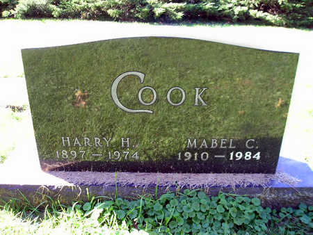 COOK, HARRY H - Bremer County, Iowa | HARRY H COOK
