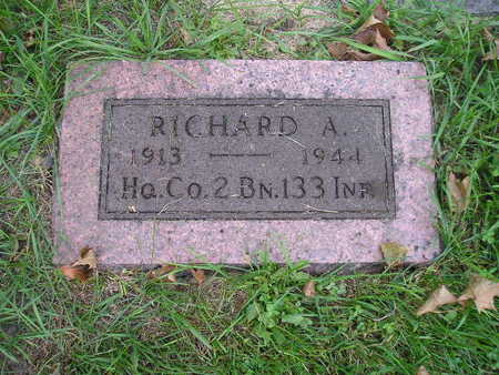 COOK, RICHARD A - Bremer County, Iowa   RICHARD A COOK