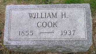 COOK, WILLIAM H - Bremer County, Iowa | WILLIAM H COOK