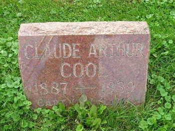 COOL, CLAUDE ARTHUR - Bremer County, Iowa | CLAUDE ARTHUR COOL