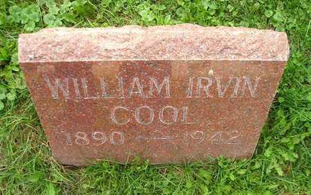 COOL, WILLIAM IRVIN - Bremer County, Iowa | WILLIAM IRVIN COOL