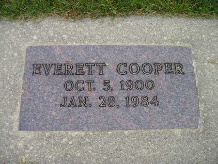 COOPER, EVERETT - Bremer County, Iowa   EVERETT COOPER