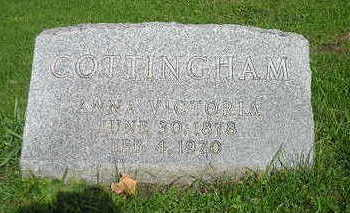 COTTINGHAM, ANNA VICTORIA - Bremer County, Iowa | ANNA VICTORIA COTTINGHAM