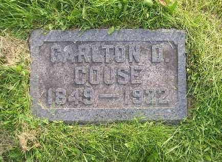COUSE, CARLTON - Bremer County, Iowa | CARLTON COUSE