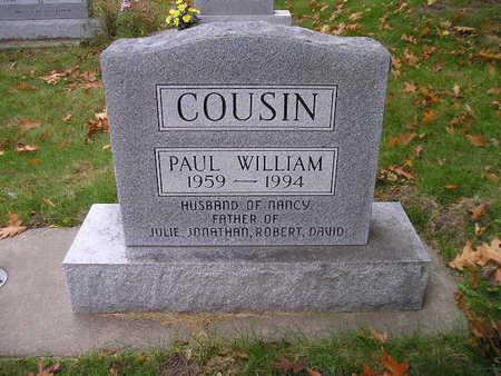 COUSIN, PAUL WILLIAM - Bremer County, Iowa | PAUL WILLIAM COUSIN