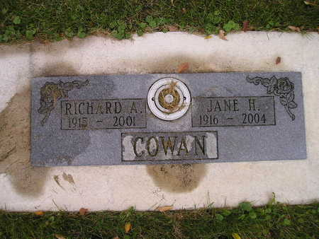 COWAN, RICHARD A - Bremer County, Iowa | RICHARD A COWAN