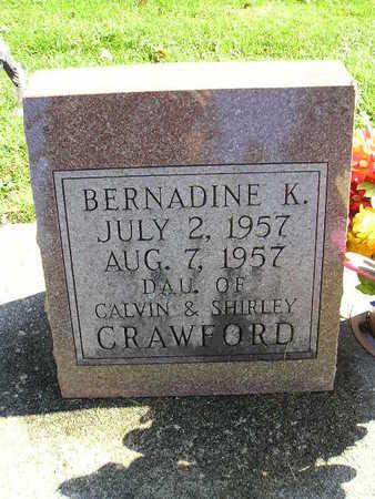 CRAWFORD, BERNADINE K - Bremer County, Iowa | BERNADINE K CRAWFORD