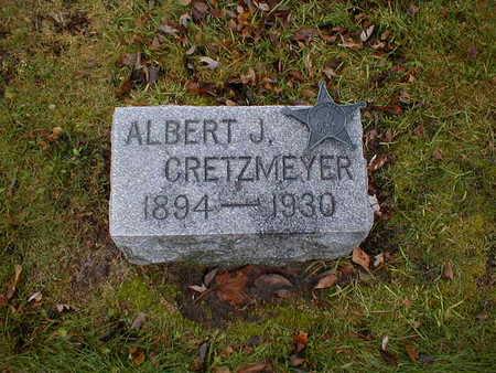 CRETZMEYER, ALBERT J - Bremer County, Iowa   ALBERT J CRETZMEYER