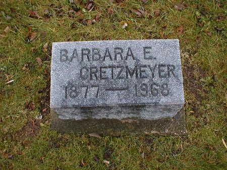 CRETZMEYER, BABARA E - Bremer County, Iowa | BABARA E CRETZMEYER