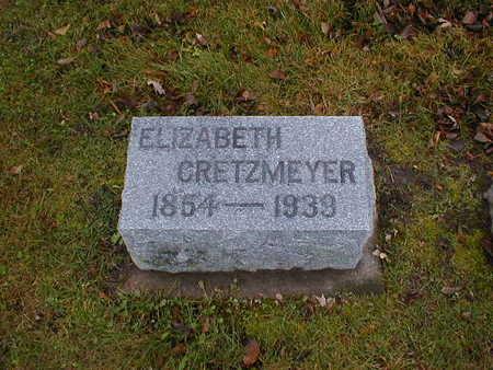 CRETZMEYER, ELIZABETH - Bremer County, Iowa   ELIZABETH CRETZMEYER