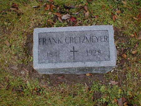 CRETZMEYER, FRANK - Bremer County, Iowa   FRANK CRETZMEYER