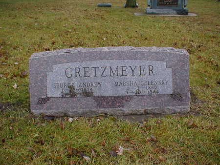 CRETZMEYER, GEORGE ANDREW - Bremer County, Iowa | GEORGE ANDREW CRETZMEYER